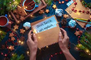 Dear Santa by dinabelenko