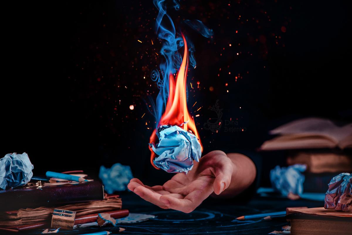 Burning Inspiration by dinabelenko