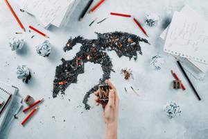Ash Dragon by dinabelenko