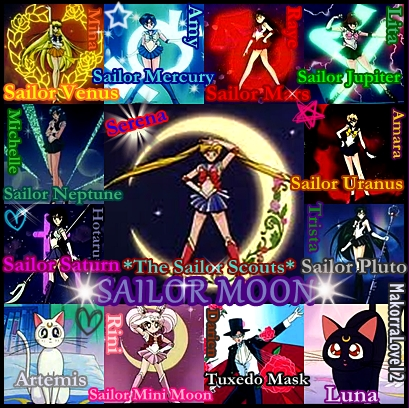 Sailor Scouts Names Related Keywords & Suggestions - Sailor Scouts