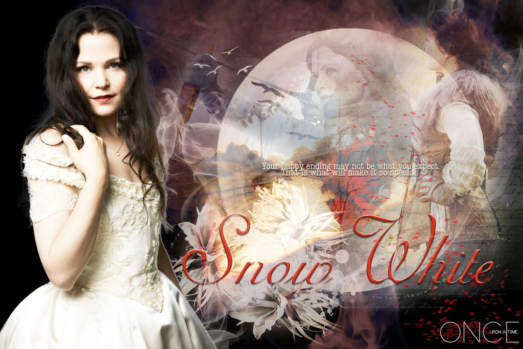 Once Upon a Time: Snow White by MakorraLove12 on DeviantArt