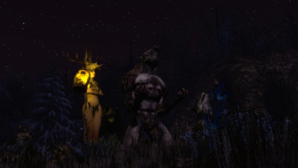 Werewolf by GlayMan