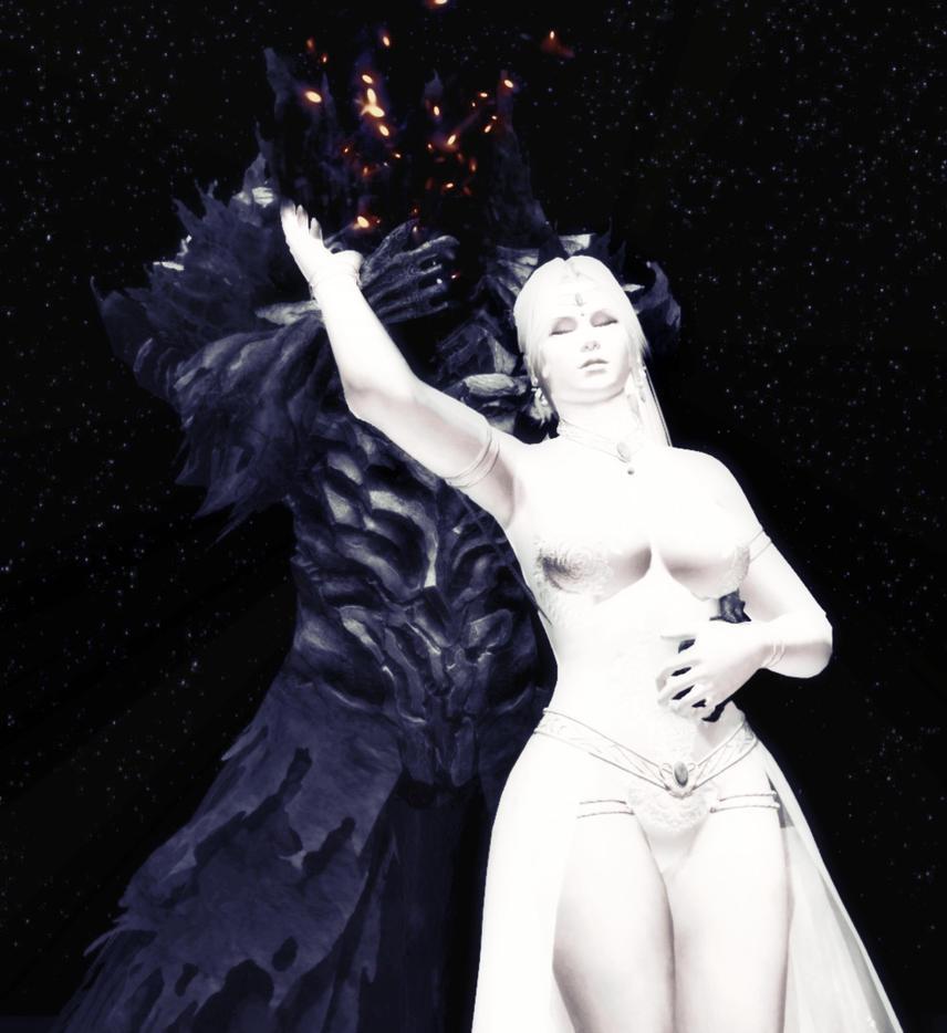 Roaming Wraith and Ivory princess by GlayMan