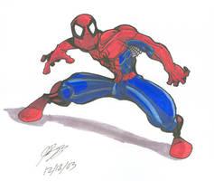 Spider Man-Prisma by n3v3rw1nt3rw0lf3