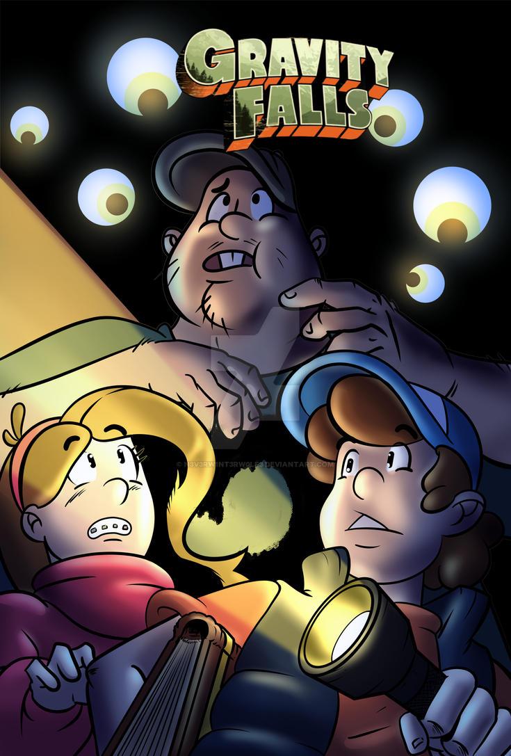 Gravity Falls FFF by n3v3rw1nt3rw0lf3
