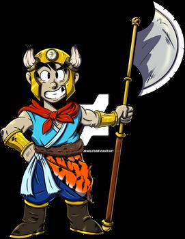 Goku Ox son-colors