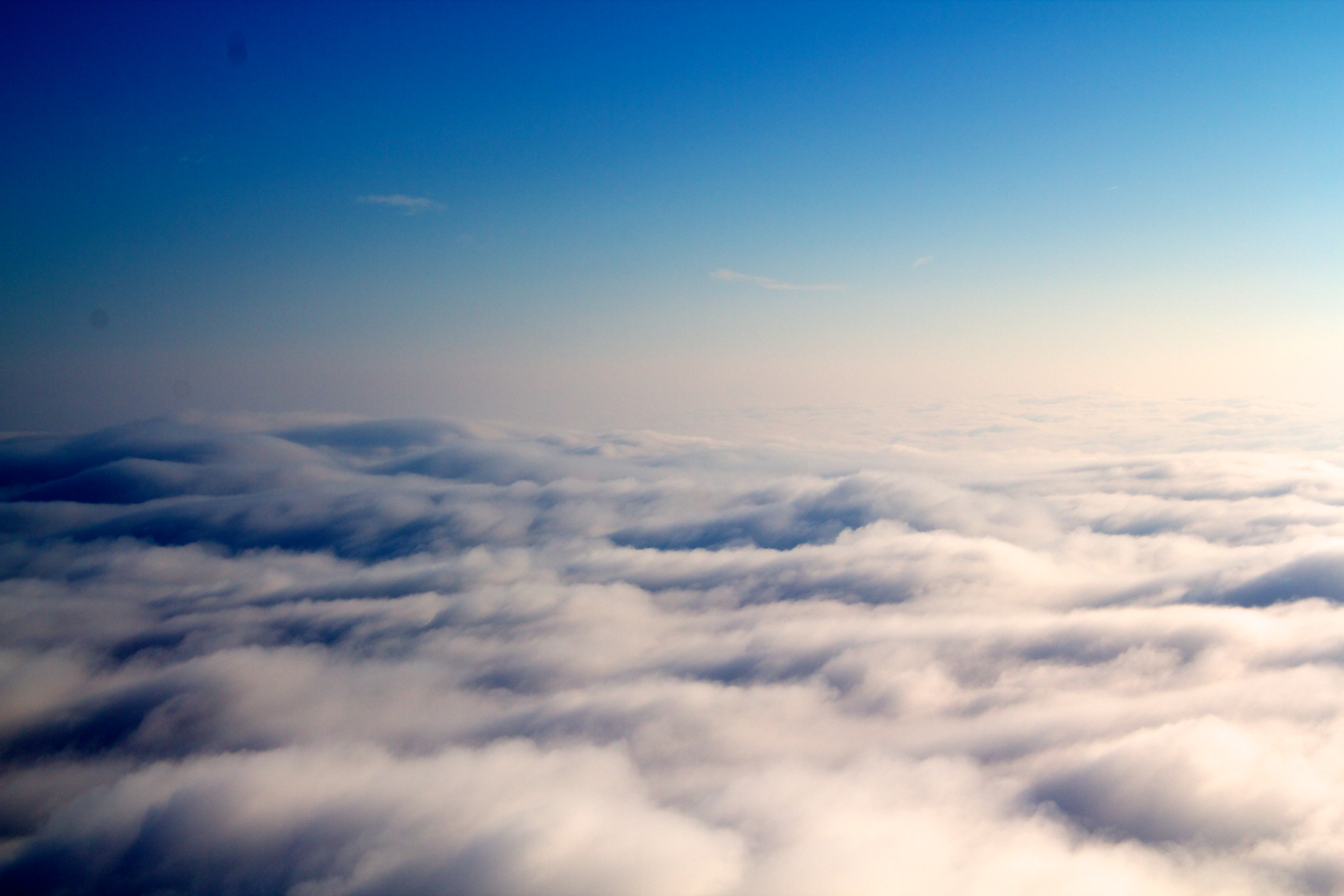 ocean above the clouds by cleanhead on deviantart