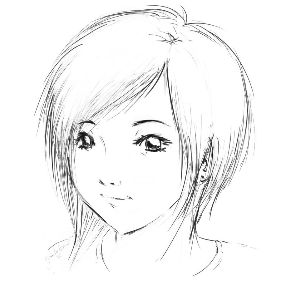 Short Hair By Artisticjme On Deviantart