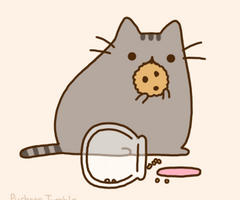 Pusheen by HatsuneMikuo