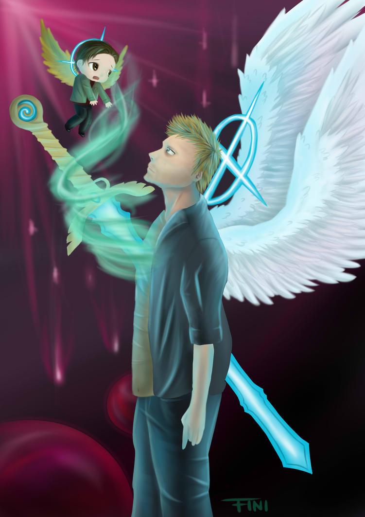 supernatural gabriel and art - photo #19