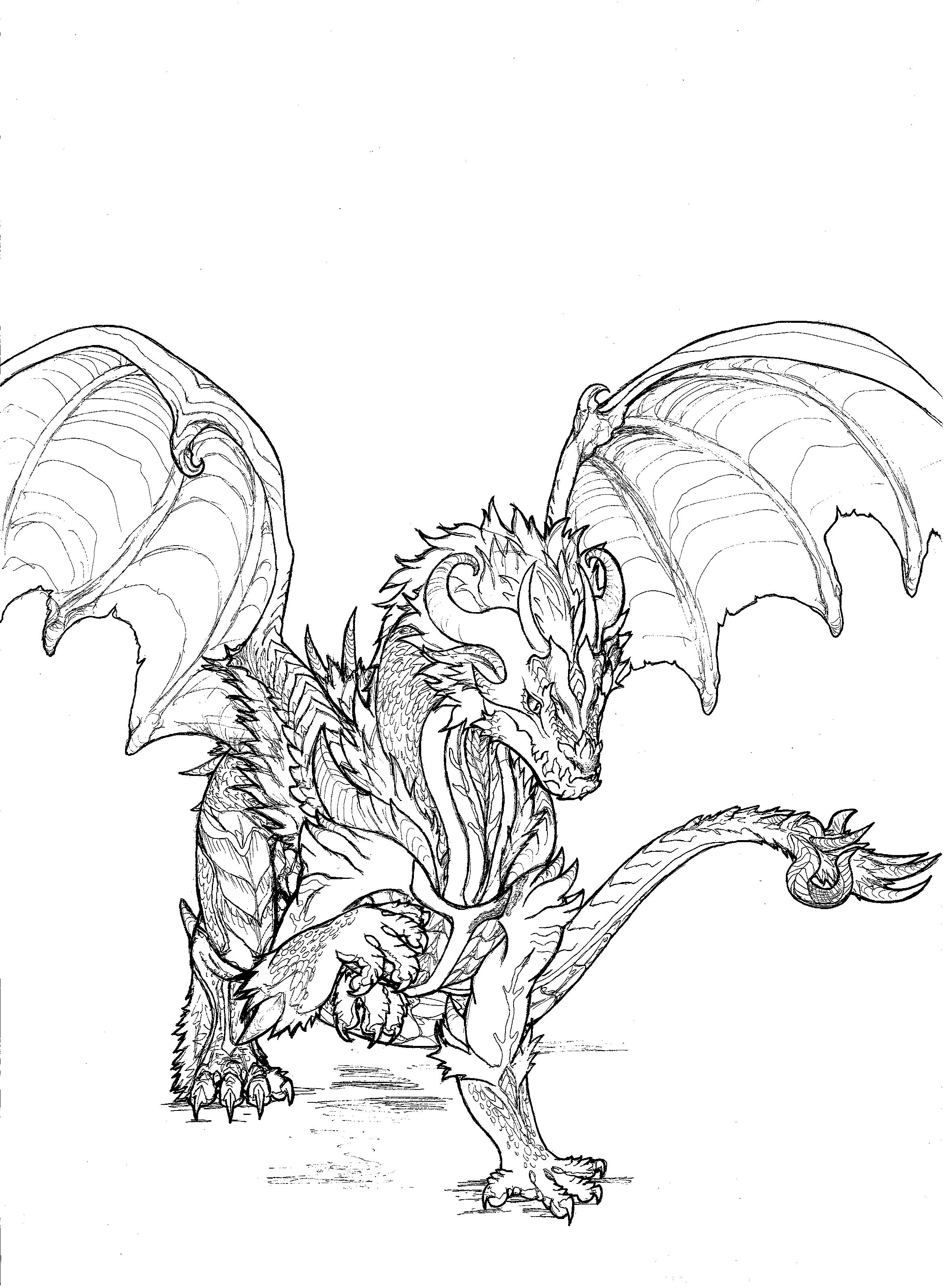 Dragon by Yoru-Dragon