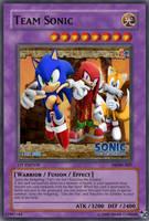 Team Sonic Yu-Gi-Oh Card by Lightshock16