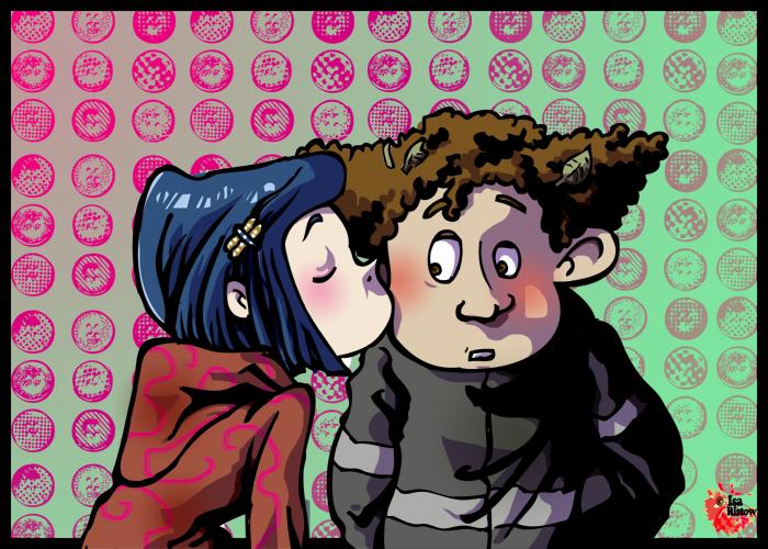 A Small Kiss by CurseXX