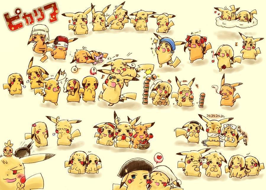 Pikachu Hetalia by gbrsasunaru