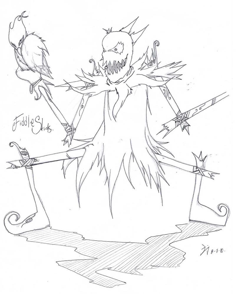 Fiddlestick quick draw. lol by