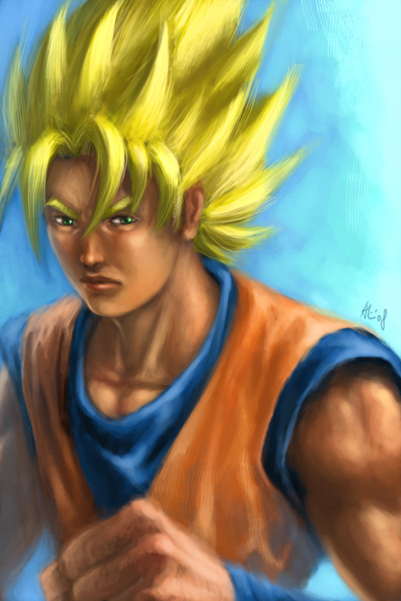 Super Goku by alvinwcy