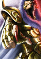 Saint Golden 12--Scorpion by alvinwcy