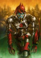 Savage Cyborg J by alvinwcy