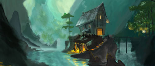 Cozy Cabin by EpicMynd88