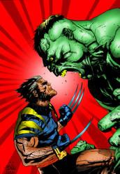 James Howlett vs. Dr. Bruce Banner by EpicMynd88