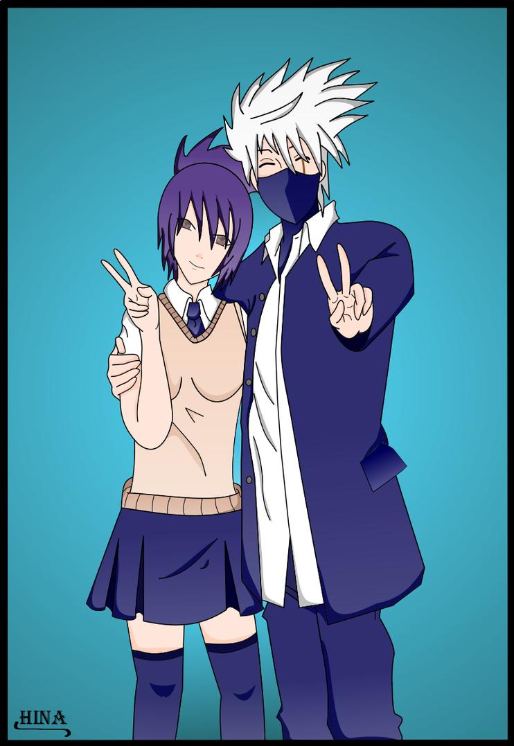 Kakashi y Anko by Hina-Hatake on DeviantArt