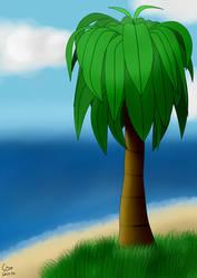 A Tree into the Horizon