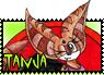 Tanja Fan Stamp 2 by Tigerraccoonbat