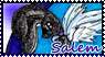 Salem Fan Stamp~ by Tigerraccoonbat