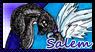Salem Fan Stamp~ by Tigerraccoonbat