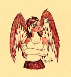 :C: This Hawk has a crush