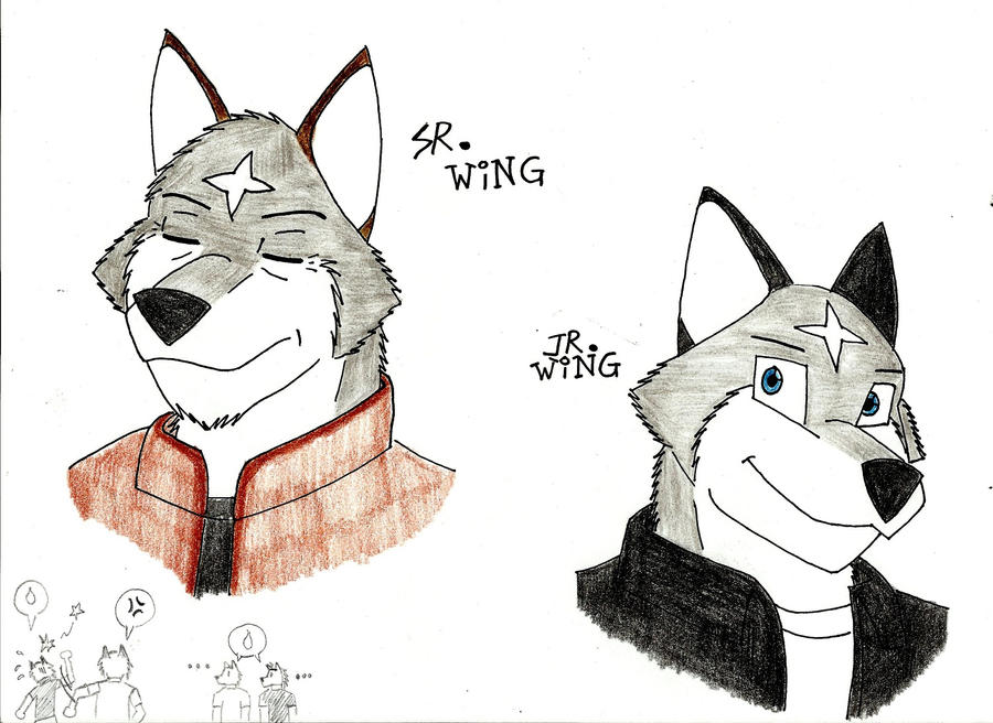 Sr.Wing and Jr.Wing