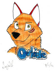 Orkide in Free Art