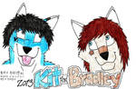 Kit and Bradley in Free Art by wingwolf88