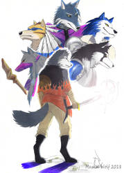 Wing Wolf - Shining Wolf 43 by wingwolf88