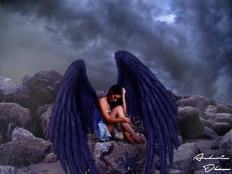 Dark angel by Animeyea