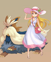 pokemon girl by amg192003
