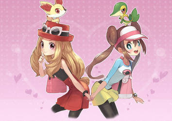 Pokemon girls by amg192003