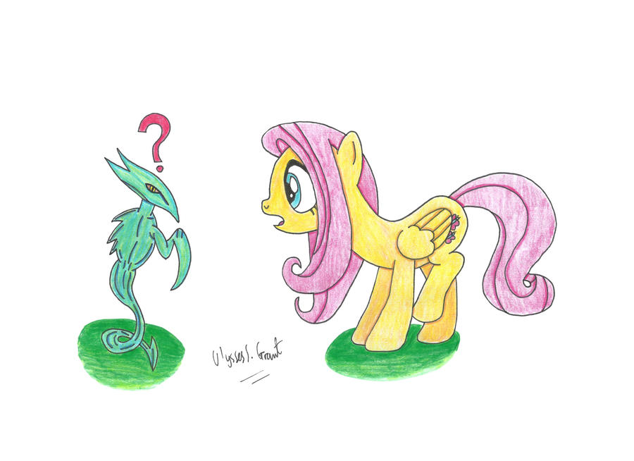 Fluttershy and the Sliver, mtg, magictcg, pony