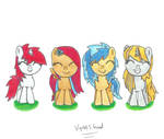 Have some filly OC's