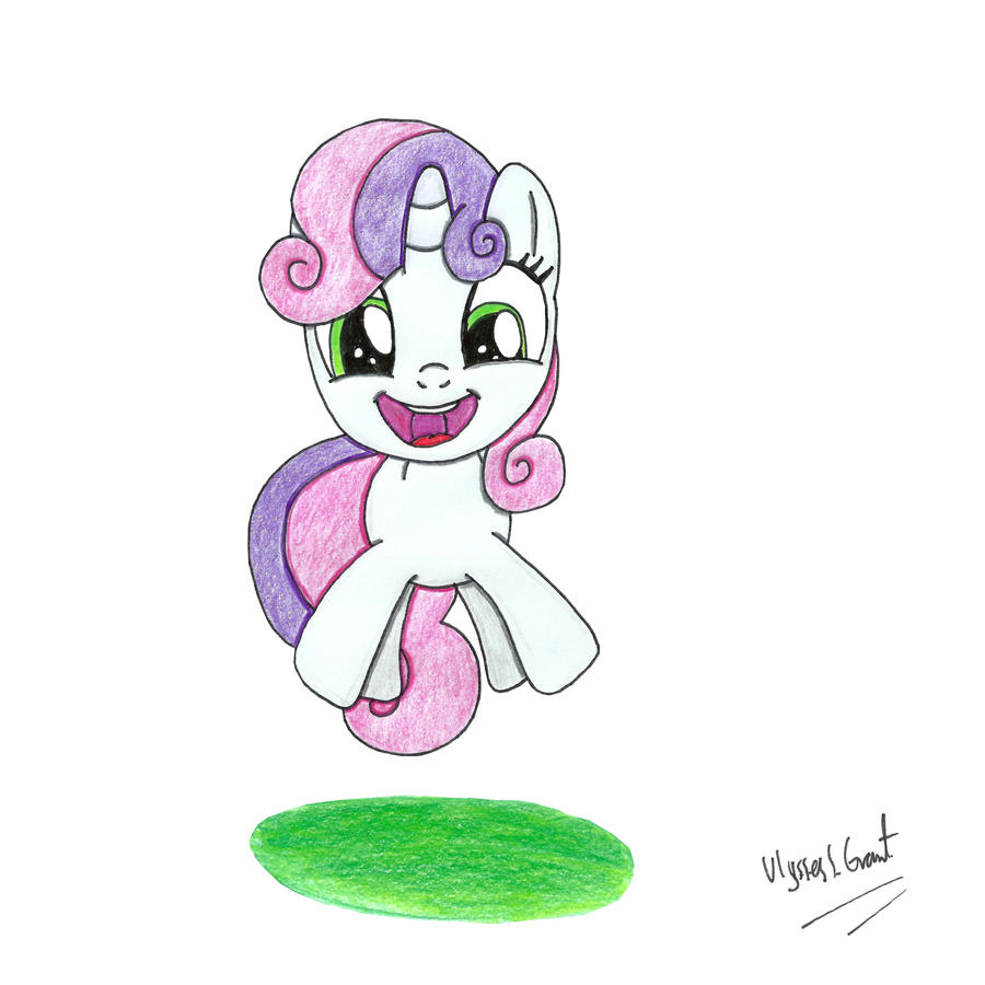 Super Excited Sweetie Belle by UlyssesGrant