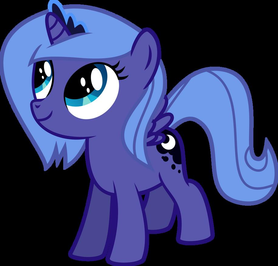 My little pony filly luna - photo#29
