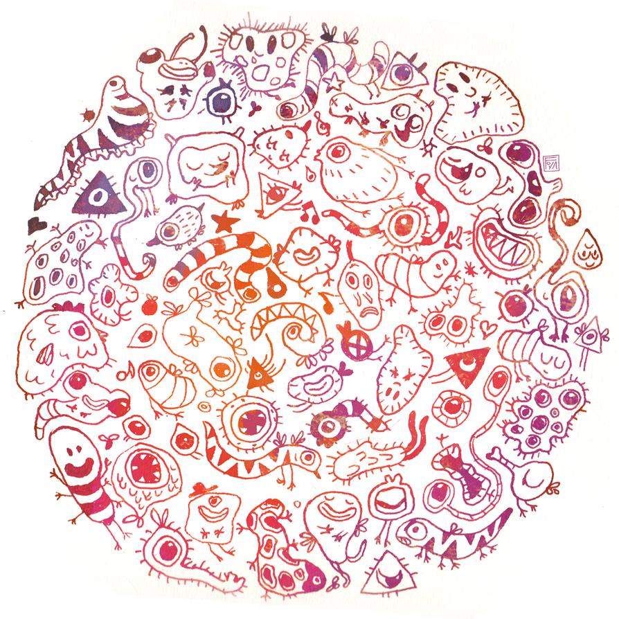 Microbes By Foyaland On DeviantArt