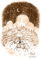 Milky Way Camping by Foyaland