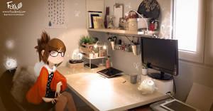 New Workspace ! by Foyaland