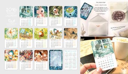 PRE-ORDER: 2016 Pocket Calendar
