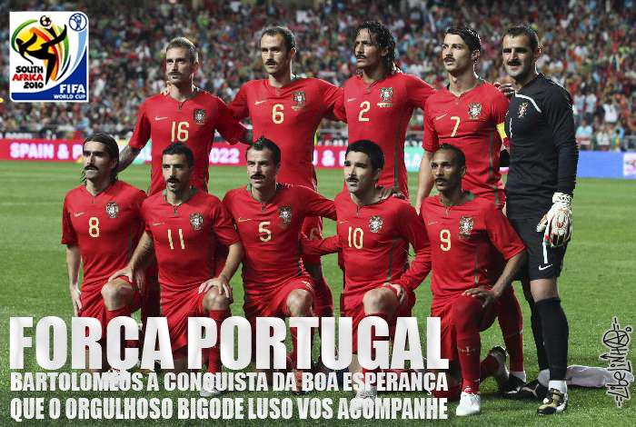 Portugal de bigode by Libelinha77