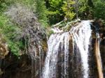 Hanging Lake Waterfall by TairenSoul
