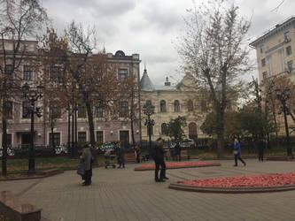 In the park by evgeniya-bengalskaya