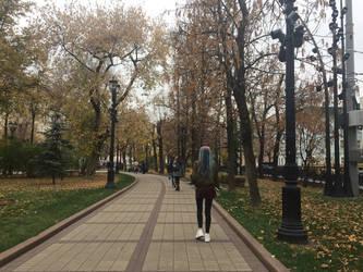 A walk by evgeniya-bengalskaya