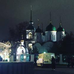 Church in the evening by evgeniya-bengalskaya